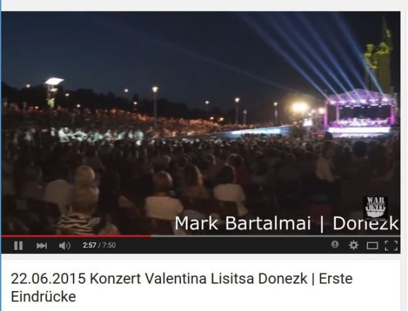 Valentina Lisitsa concert in Donetsk