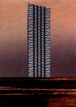 Tire Tracks #3, 2006