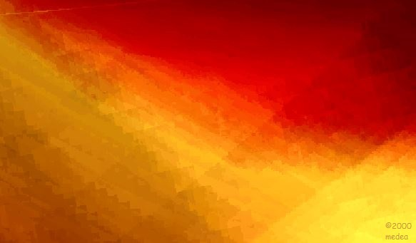 fractal sunset