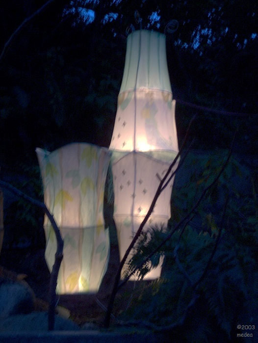 Chang-E in her moon palace; Mid-autumn festival 2003