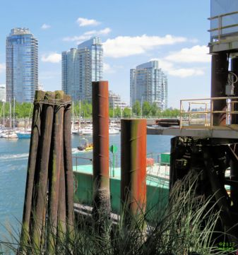 False Creek North from Granville Island